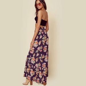 Flynn Skye Unbutton Me Skirt in Pastel Bloom